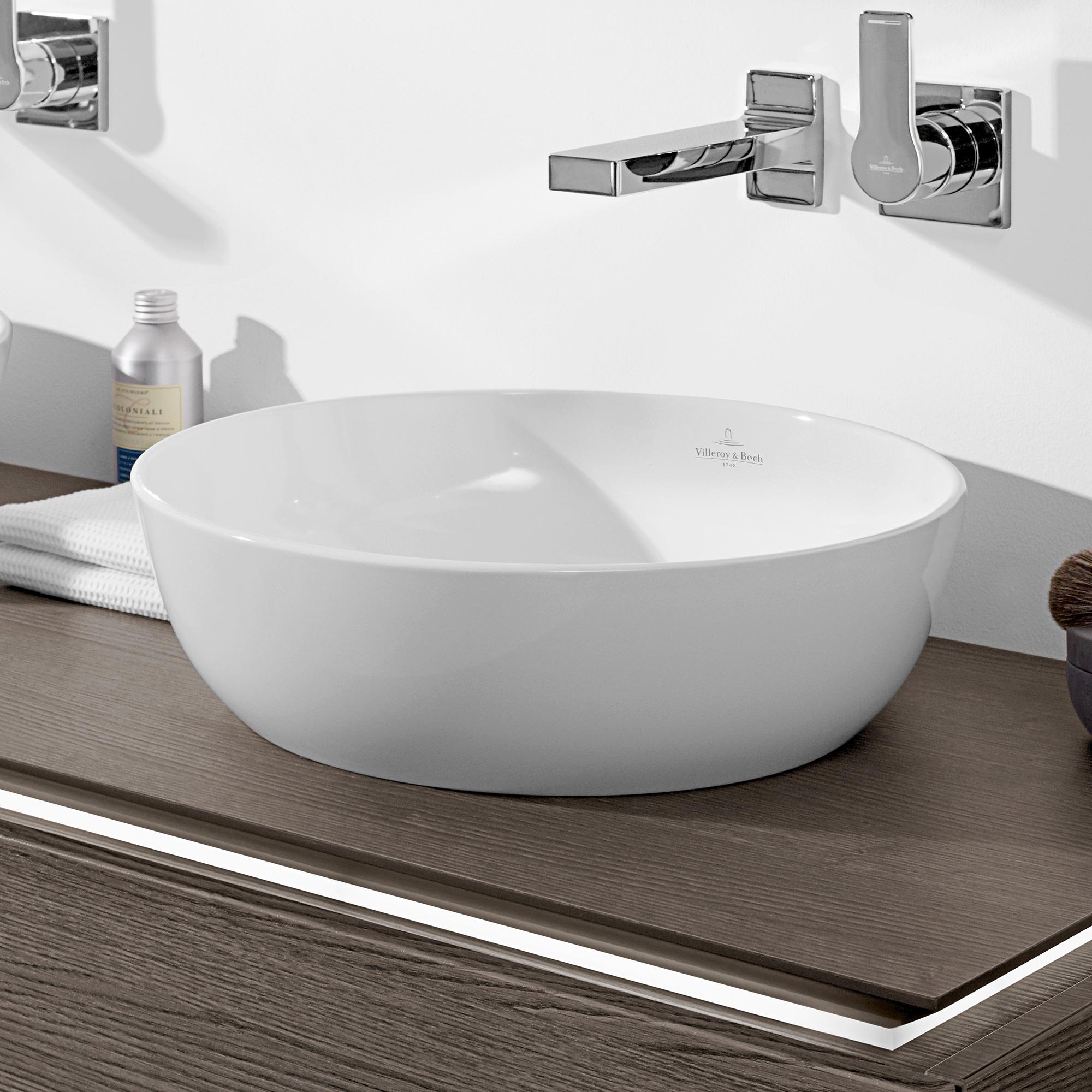 villeroy boch artis aufsatzwaschtisch wei ohne berlauf. Black Bedroom Furniture Sets. Home Design Ideas