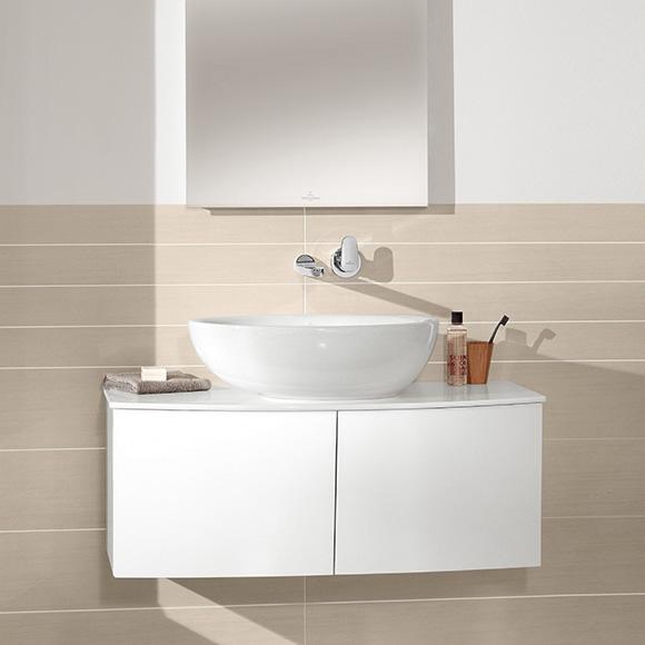 Villeroy & Boch Waschtischunterschrank Subway 20 A90710 485x590x380 Glossy White A90710DH