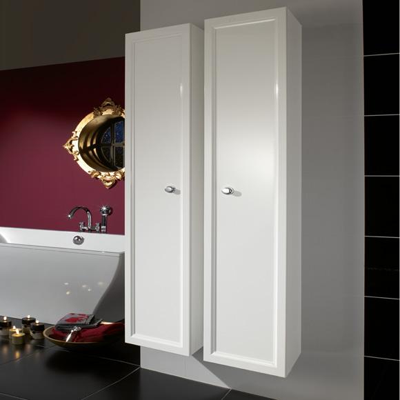 villeroy boch la belle hochschrank wei glanz griff. Black Bedroom Furniture Sets. Home Design Ideas