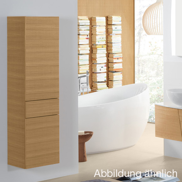 villeroy boch legato hochschrank eiche graphit b21201fq reuter onlineshop. Black Bedroom Furniture Sets. Home Design Ideas