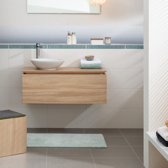 villeroy boch legato led waschtischunterschrank ulme impresso b106l0pn reuter onlineshop. Black Bedroom Furniture Sets. Home Design Ideas