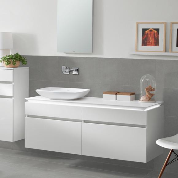 villeroy boch legato led waschtischunterschrank glossy white b136l0dh reuter onlineshop. Black Bedroom Furniture Sets. Home Design Ideas