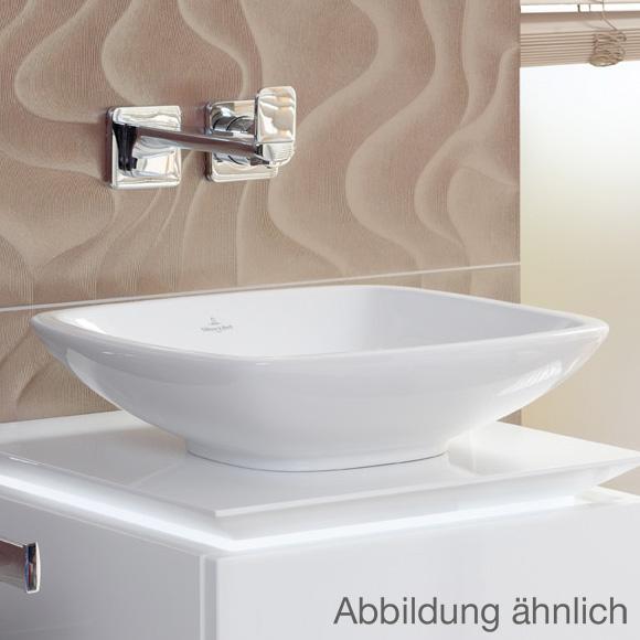 villeroy boch loop friends aufsatzwaschtisch eckig pergamon mit ceramicplus ohne berlauf. Black Bedroom Furniture Sets. Home Design Ideas