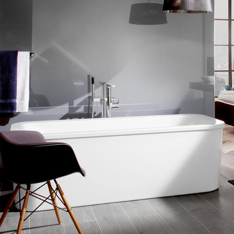 villeroy boch loop friends duo freistehende eckige badewanne starwhite uba180lfs7pdv 96. Black Bedroom Furniture Sets. Home Design Ideas
