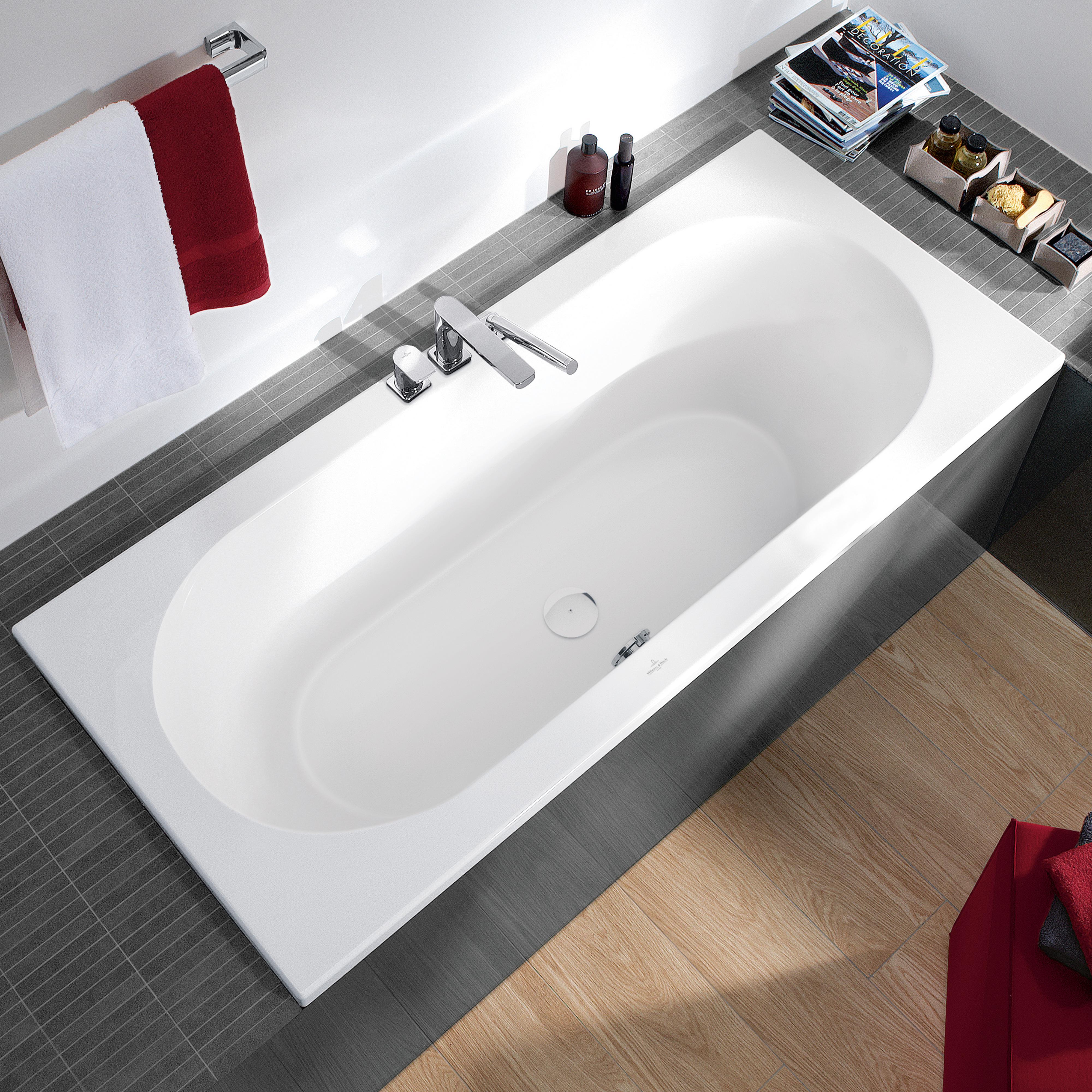 villeroy boch loop friends duo rechteck badewanne wei uba180lfo2v 01 reuter onlineshop. Black Bedroom Furniture Sets. Home Design Ideas