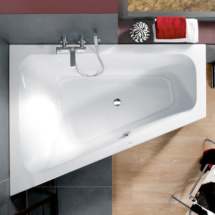 villeroy boch loop friends eck badewanne ausf hrung links starwhite uba175lfs9liv 96. Black Bedroom Furniture Sets. Home Design Ideas