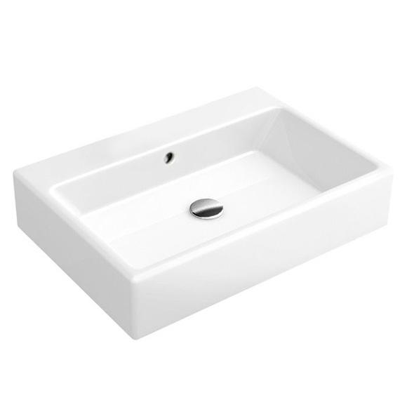 villeroy boch memento aufsatzwaschtisch wei mit ceramicplus mit berlauf. Black Bedroom Furniture Sets. Home Design Ideas
