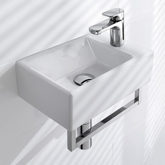 villeroy boch memento handwaschbecken wei mit. Black Bedroom Furniture Sets. Home Design Ideas