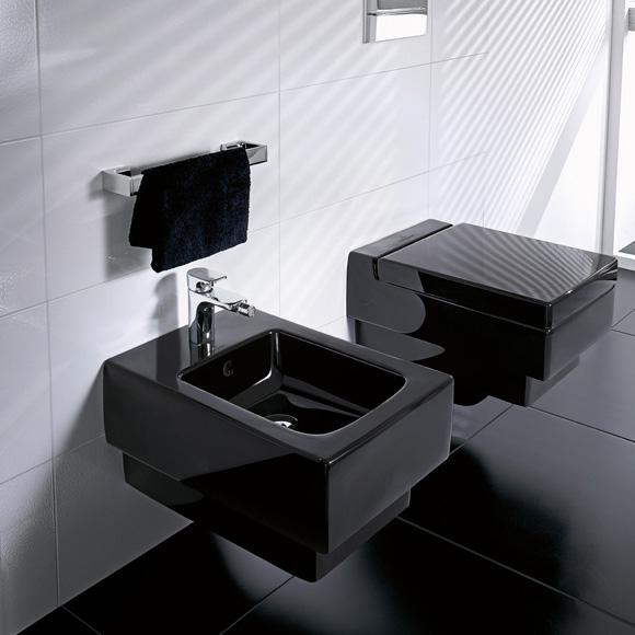 villeroy boch memento tiefsp l wand wc l 56 b 37 5 cm glossy black ceramicplus 562810s0. Black Bedroom Furniture Sets. Home Design Ideas