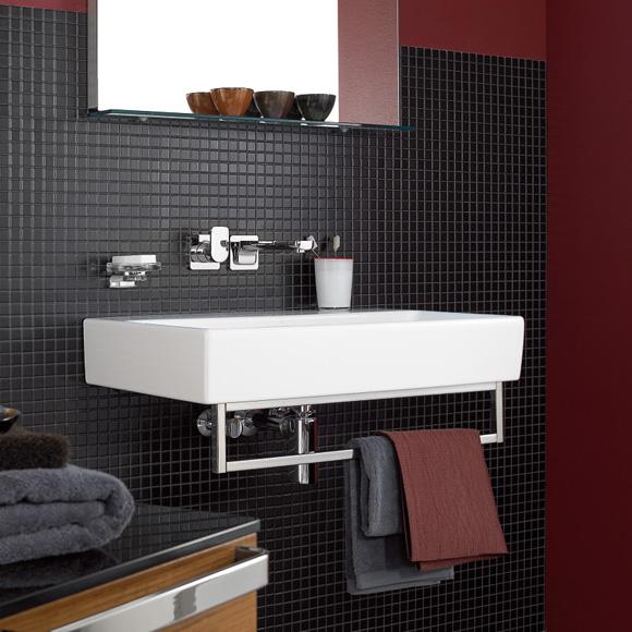 villeroy boch memento waschtisch f r montage mit m beln konsole starwhite ceramicplus mit 1. Black Bedroom Furniture Sets. Home Design Ideas