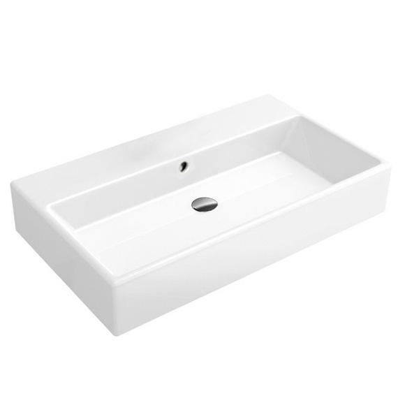 villeroy boch memento waschtisch f r montage mit m beln konsole starwhite ceramicplus ohne. Black Bedroom Furniture Sets. Home Design Ideas