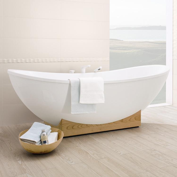 freistehende badewanne villeroy boch villeroy boch my nature duo free standing bath white. Black Bedroom Furniture Sets. Home Design Ideas