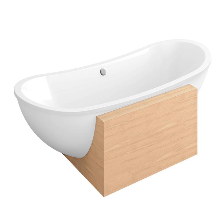 freistehende badewanne villeroy boch villeroy boch my. Black Bedroom Furniture Sets. Home Design Ideas