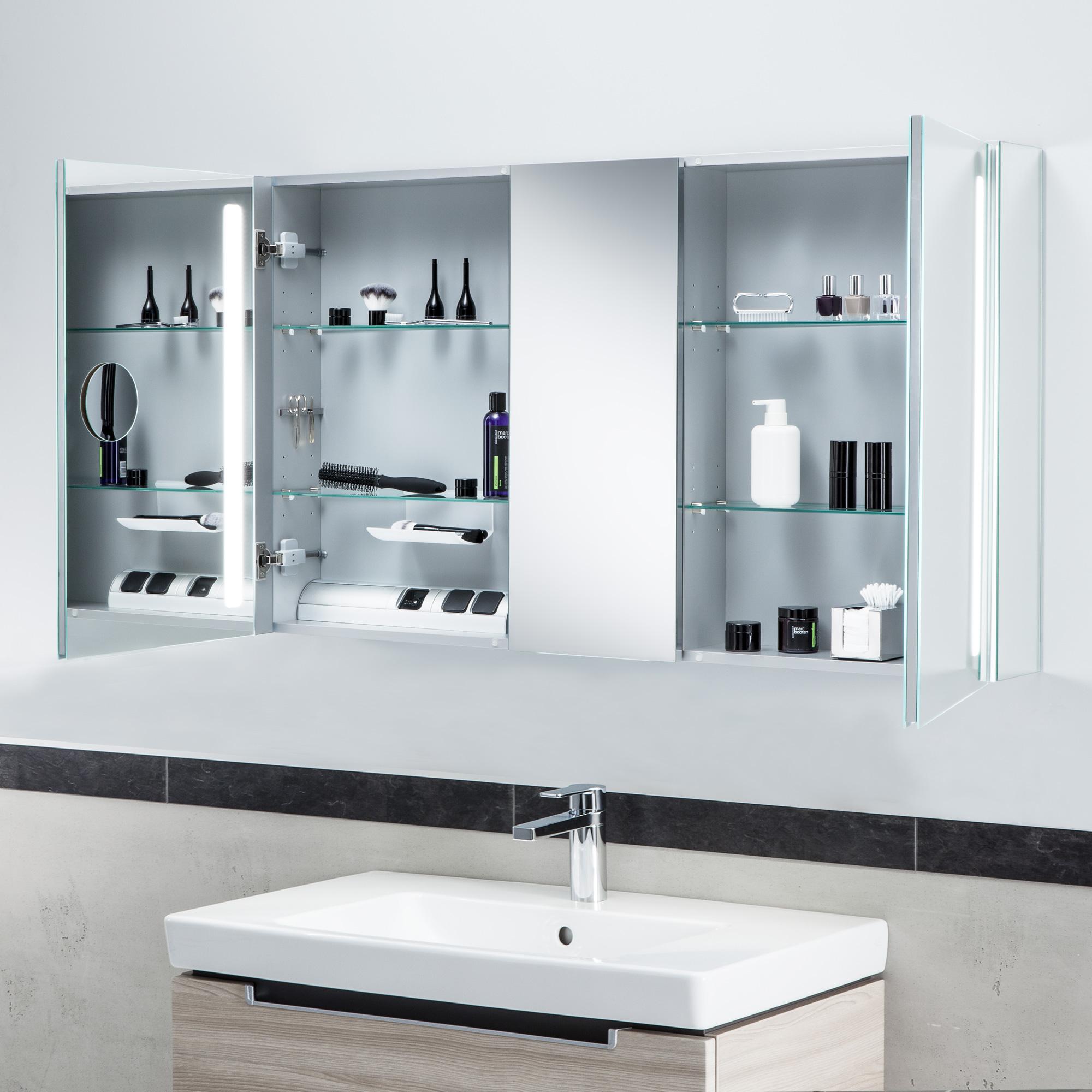 villeroy boch my view 14 spiegelschrank mit led beleuchtung dimmbar a4241300 reuter. Black Bedroom Furniture Sets. Home Design Ideas