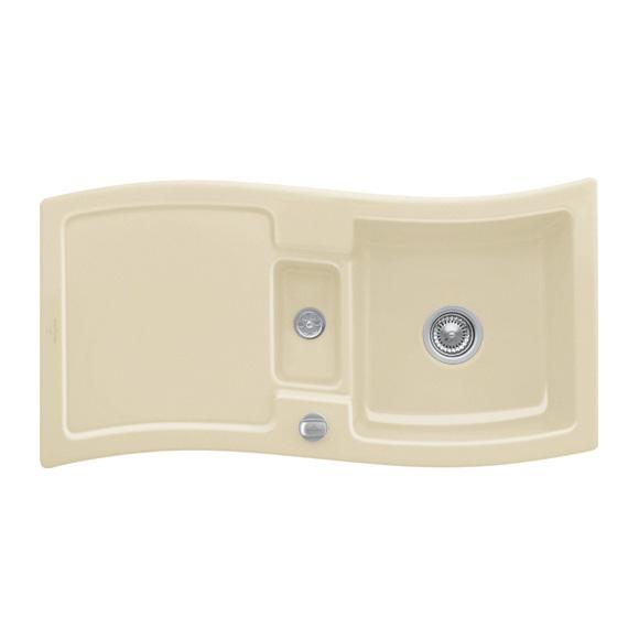 villeroy boch new wave 60 sp le mit excenterbet tigung b 98 t 51 cm sand position. Black Bedroom Furniture Sets. Home Design Ideas