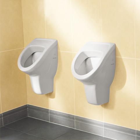 villeroy boch absaugwand urinal b 30 h 53 t 31 cm zulauf verdeckt wei mit. Black Bedroom Furniture Sets. Home Design Ideas