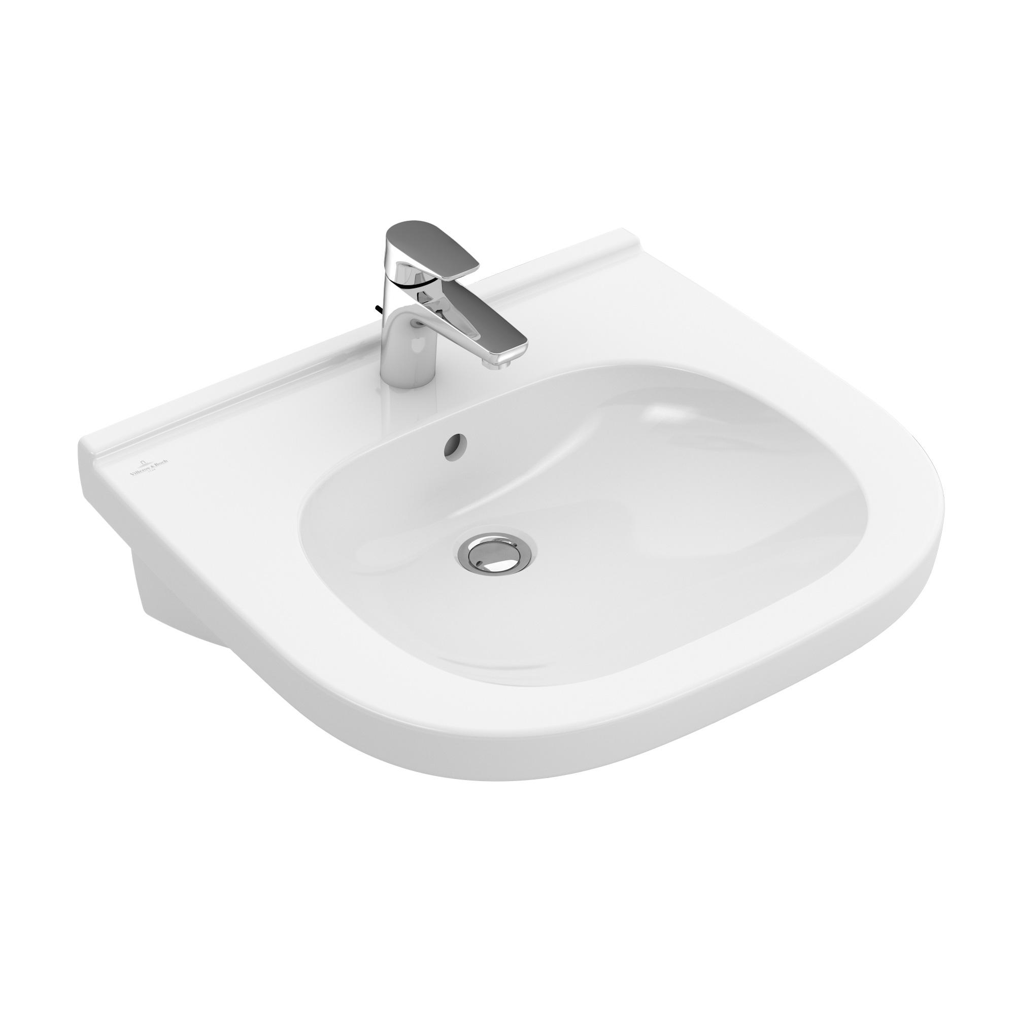 villeroy boch waschtisch vita unterfahrbar b 55 t 55 cm wei mit ceramicplus. Black Bedroom Furniture Sets. Home Design Ideas