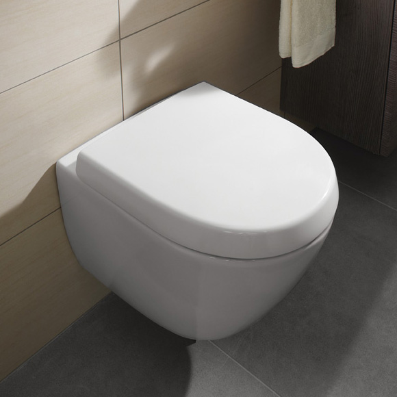 villeroy boch subway 2 0 compact wc sitz mit softclosing funktion und quick release wei. Black Bedroom Furniture Sets. Home Design Ideas