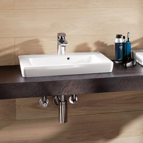 villeroy boch subway 2 0 handwaschbecken wei mit ceramicplus 73155gr1 reuter onlineshop. Black Bedroom Furniture Sets. Home Design Ideas