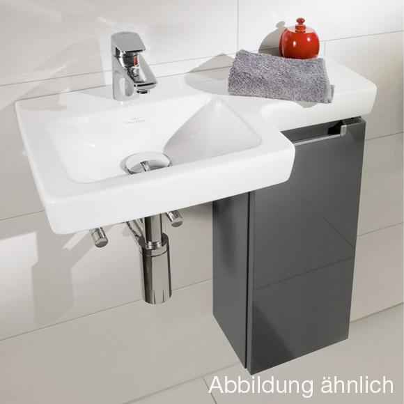 villeroy boch subway 2 0 handwaschbecken unterschrank mit 1 t r seitlich stone grey. Black Bedroom Furniture Sets. Home Design Ideas