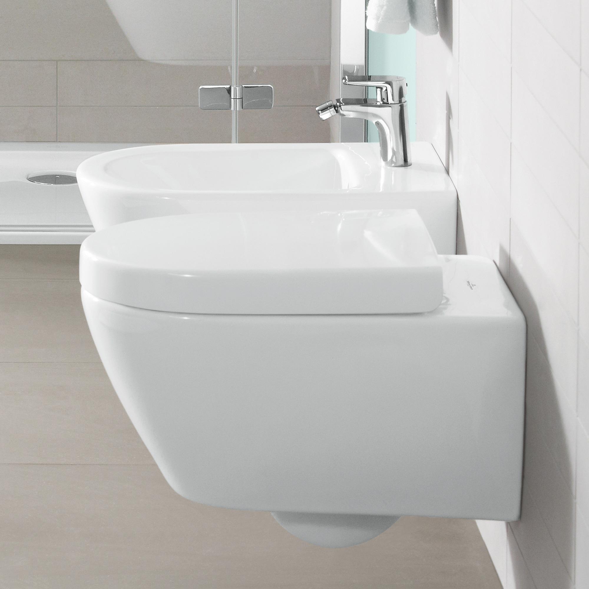 villeroy boch subway 2 0 tiefsp l wand wc l 56 b 37 cm starwhite ceramicplus 560010r2. Black Bedroom Furniture Sets. Home Design Ideas