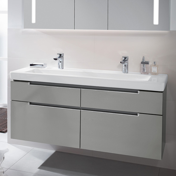 villeroy boch subway 2 0 waschtisch b 130 t 47 cm wei. Black Bedroom Furniture Sets. Home Design Ideas