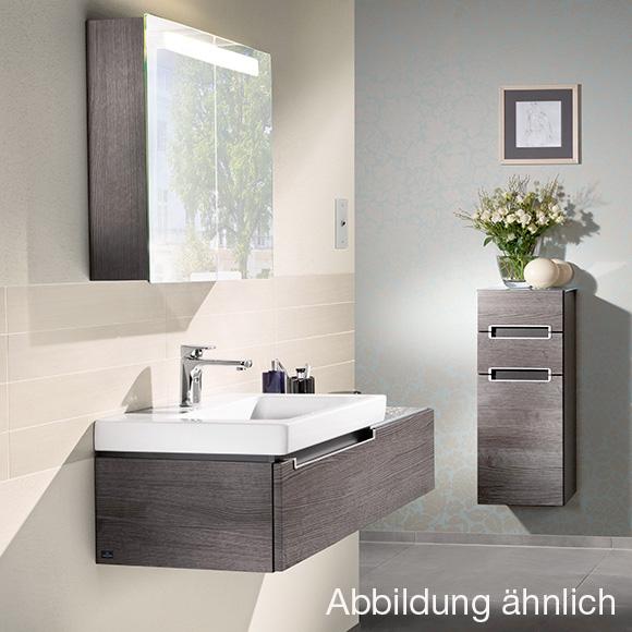 villeroy boch subway 2 0 waschtischunterschrank asymetrisch mit 1 auszug santana oak. Black Bedroom Furniture Sets. Home Design Ideas