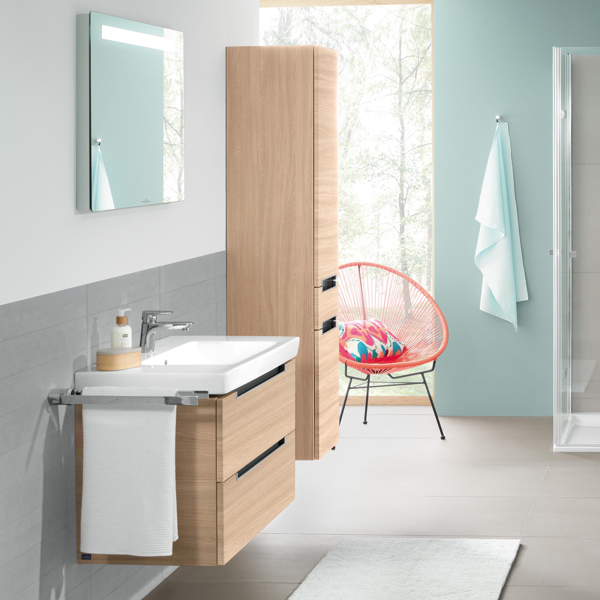 villeroy boch subway 2 0 waschtischunterschrank mit 2 ausz gen ulme impresso a69600pn. Black Bedroom Furniture Sets. Home Design Ideas