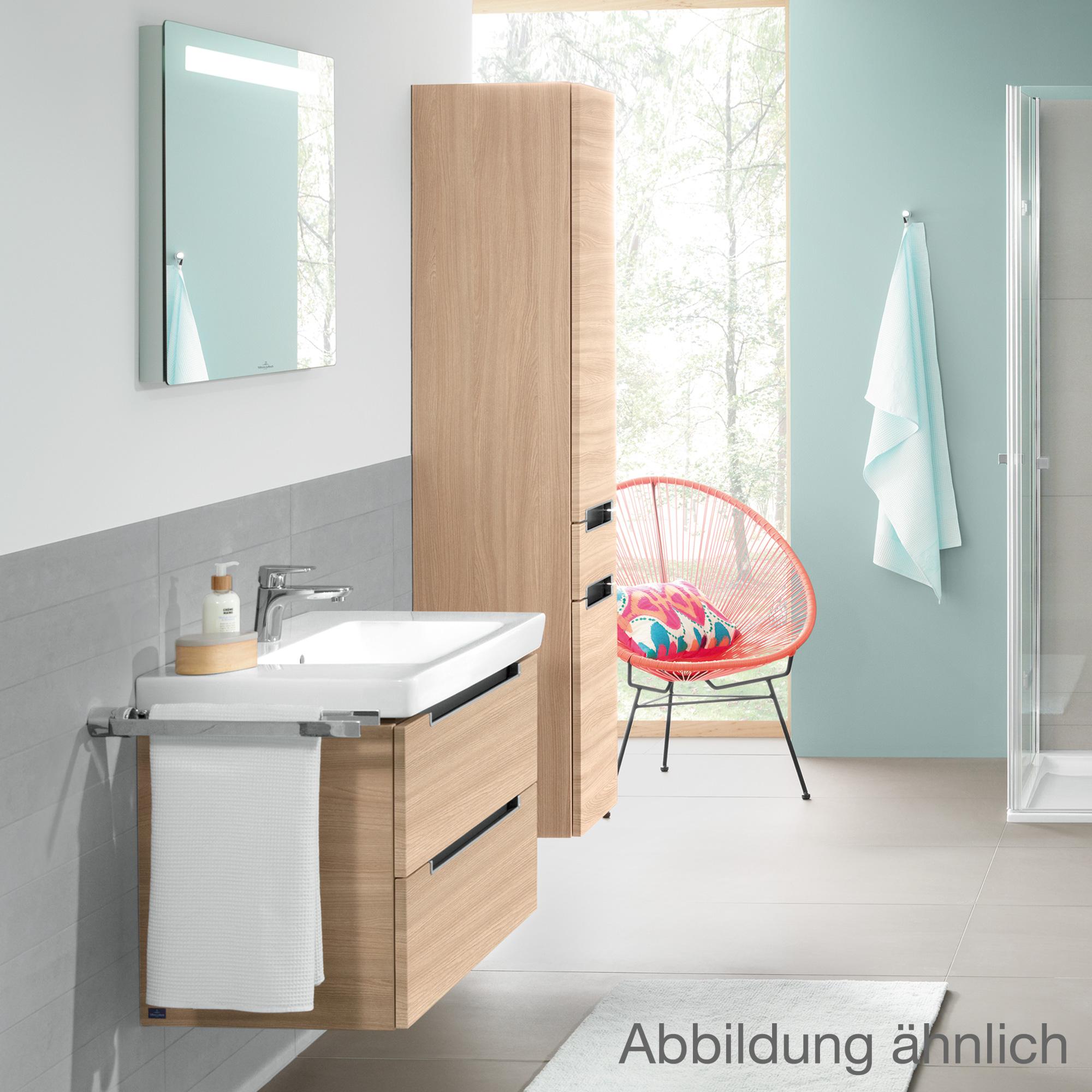 villeroy boch subway 2 0 waschtischunterschrank mit 2 ausz gen glossy white a69700dh. Black Bedroom Furniture Sets. Home Design Ideas