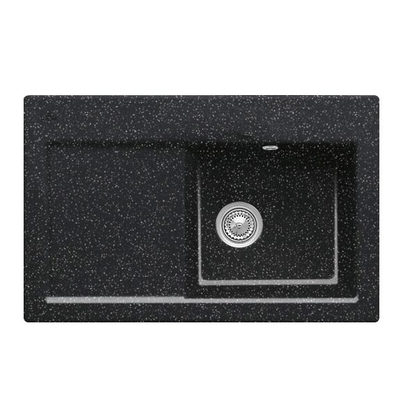 villeroy boch subway 45 sp le mit handbet tigung b 78 t 51 cm becken rechts chromit. Black Bedroom Furniture Sets. Home Design Ideas