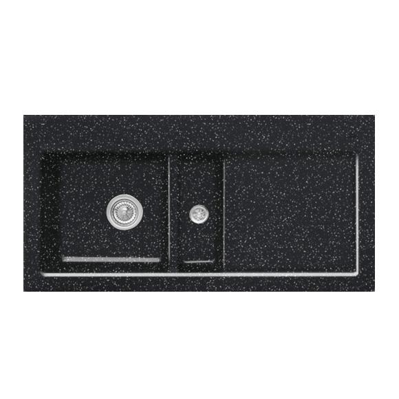 villeroy boch subway 60 sp le mit handbet tigung b 100 t 51 cm becken links chromit. Black Bedroom Furniture Sets. Home Design Ideas