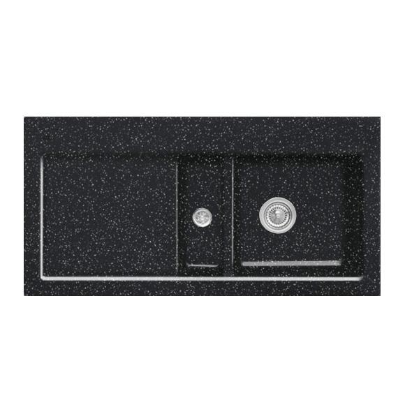 villeroy boch subway 60 sp le mit handbet tigung b 100 t 51 cm becken rechts chromit. Black Bedroom Furniture Sets. Home Design Ideas