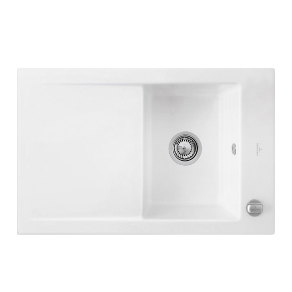 villeroy boch timeline 45 flat sp le mit excenterbet tigung b 76 5 t 47 5 cm wei alpin. Black Bedroom Furniture Sets. Home Design Ideas