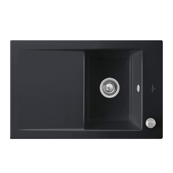 villeroy boch timeline 45 sp le mit excenterbet tigung b 80 t 51 cm ebony position. Black Bedroom Furniture Sets. Home Design Ideas