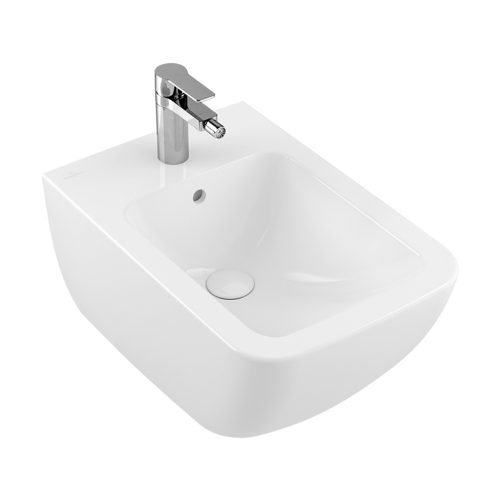 villeroy boch venticello bidet wei mit ceramicplus 441100r1 reuter onlineshop. Black Bedroom Furniture Sets. Home Design Ideas