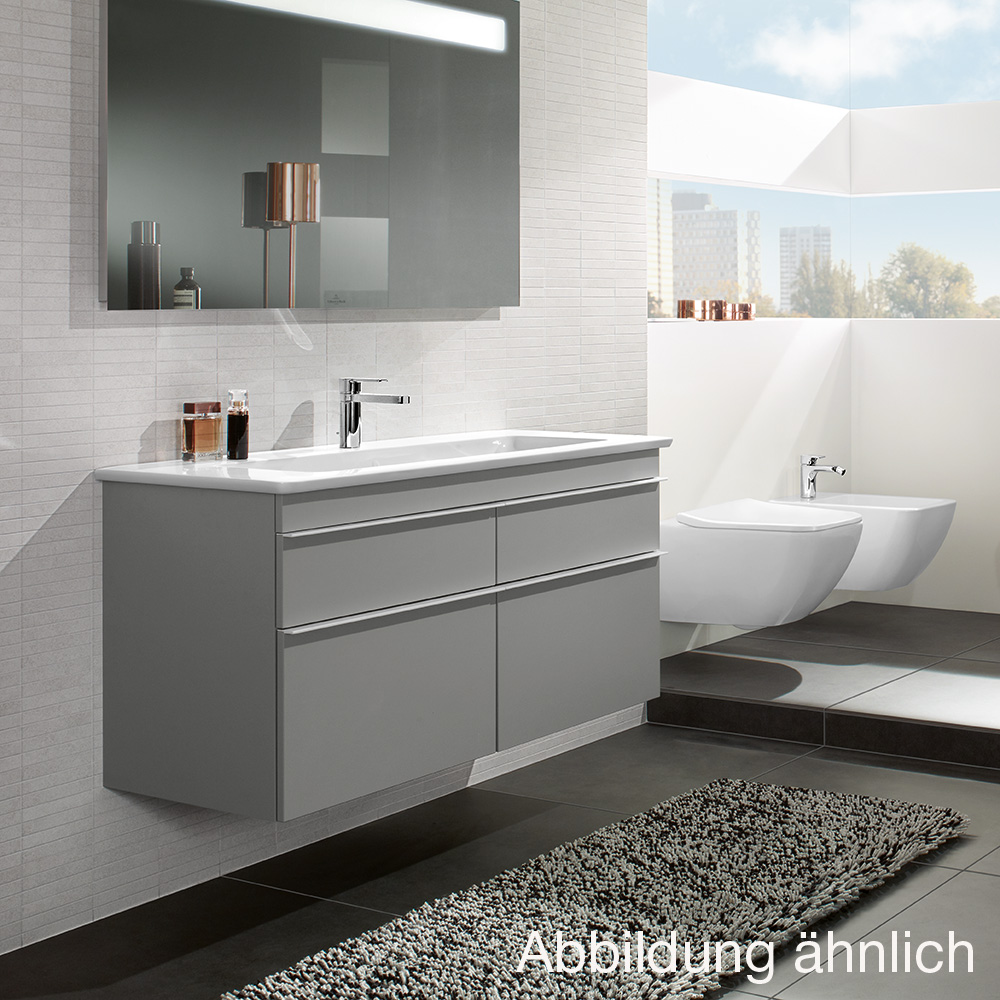 villeroy boch venticello waschtischunterschrank xxl glossy white a93001dh reuter onlineshop. Black Bedroom Furniture Sets. Home Design Ideas