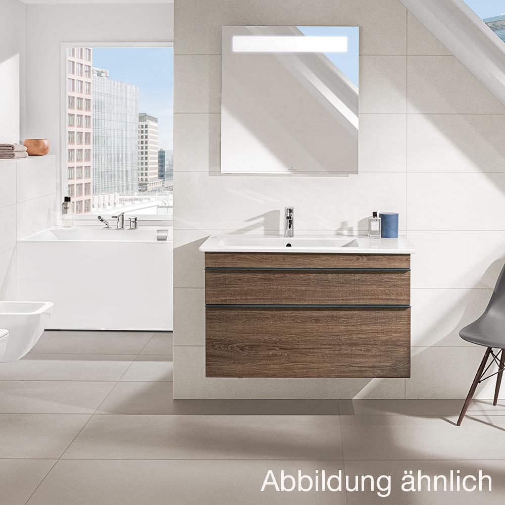 villeroy boch venticello waschtischunterschrank xxl glossy grey a92601fp reuter onlineshop. Black Bedroom Furniture Sets. Home Design Ideas