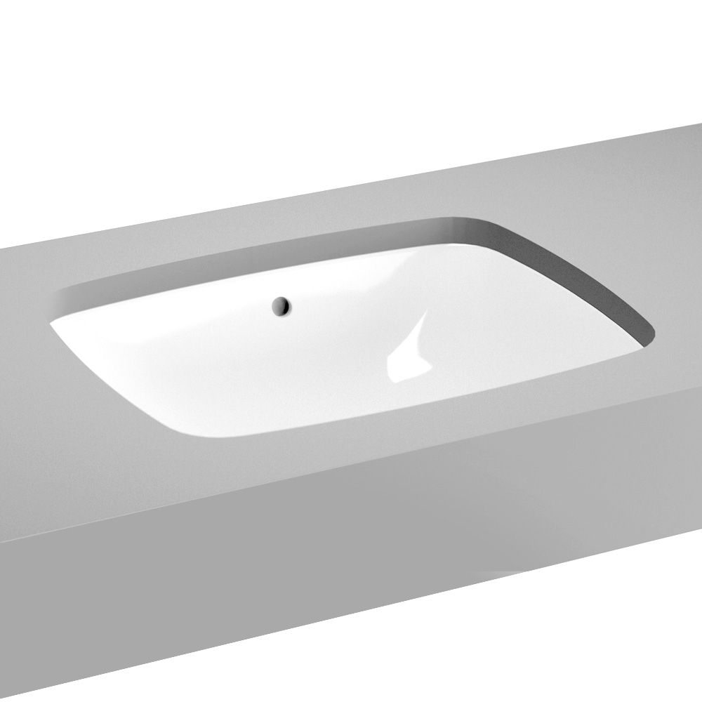 vitra metropole unterbauwaschtisch wei mit vitraclean mit berlauf 5667b403 1082 reuter. Black Bedroom Furniture Sets. Home Design Ideas