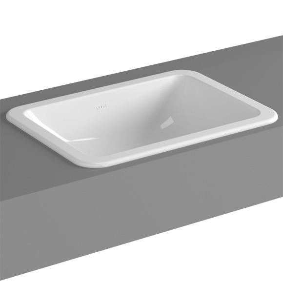 vitra s20 einbauwaschtisch ohne hahnloch 5474b003 0642 reuter onlineshop. Black Bedroom Furniture Sets. Home Design Ideas
