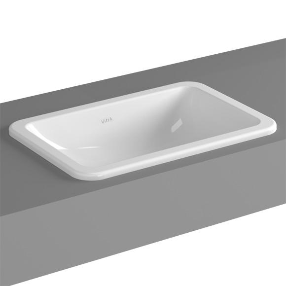 vitra s20 einbauwaschtisch ohne hahnloch 5475b003 0642. Black Bedroom Furniture Sets. Home Design Ideas
