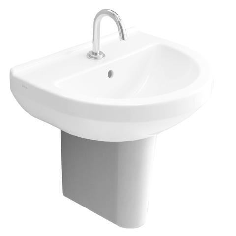 vitra s50 halbs ule f r handwaschbecken wei 5315l003 0156 reuter onlineshop. Black Bedroom Furniture Sets. Home Design Ideas