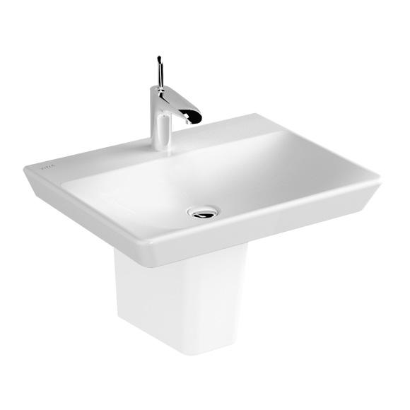 vitra t4 waschtisch wei mit vitraclean ohne berlauf. Black Bedroom Furniture Sets. Home Design Ideas