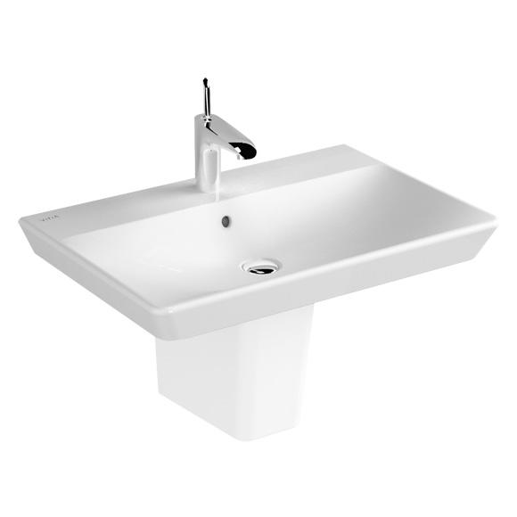 vitra t4 waschtisch wei mit berlauf 4452b003 0001 reuter onlineshop. Black Bedroom Furniture Sets. Home Design Ideas