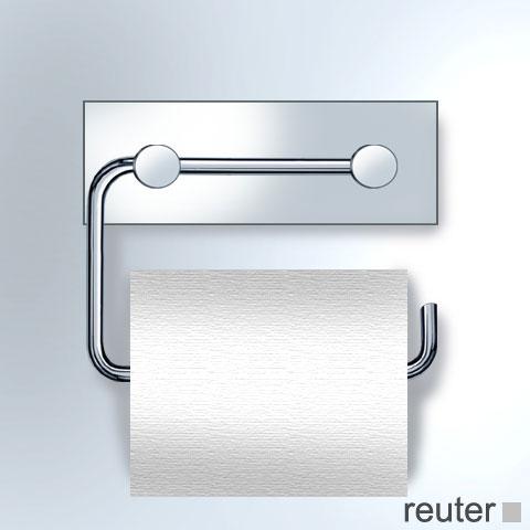 vola t12 papierhalter f r eine wc rolle chrom hochglanz ohne wandplatte t12bp 16 reuter. Black Bedroom Furniture Sets. Home Design Ideas
