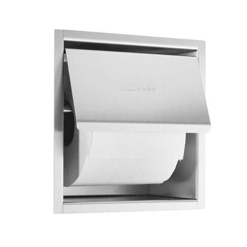 wagner ewar toilettenpapierhalter wp 157 f r unterputzmontage edelstahl matt geschliffen. Black Bedroom Furniture Sets. Home Design Ideas