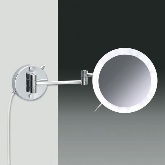 windisch 99650 2 wand kosmetikspiegel mit led beleuchtung. Black Bedroom Furniture Sets. Home Design Ideas