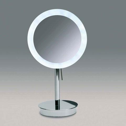 schminkspiegel mit led beleuchtung glas pendelleuchte modern. Black Bedroom Furniture Sets. Home Design Ideas