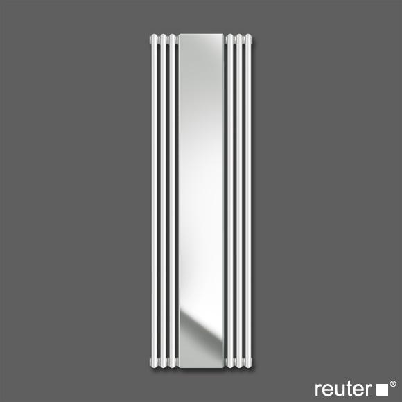 zehnder charleston mirror heizk rper weiss breite 552 mm. Black Bedroom Furniture Sets. Home Design Ideas
