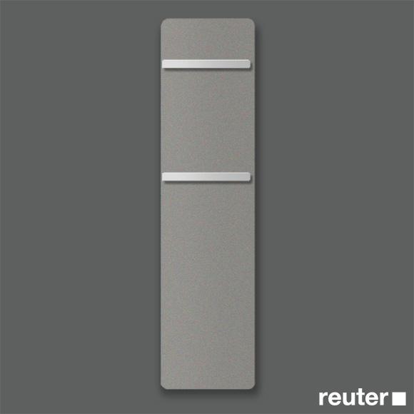 zehnder vitalo badheizk rper h 157 cm f r rein elektrischen betrieb grey aluminium breite 40 cm. Black Bedroom Furniture Sets. Home Design Ideas